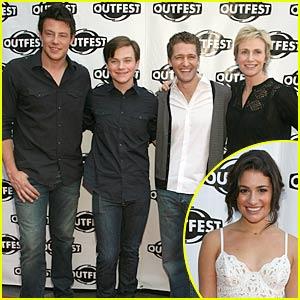 Glee Cast is OutFest Fierce