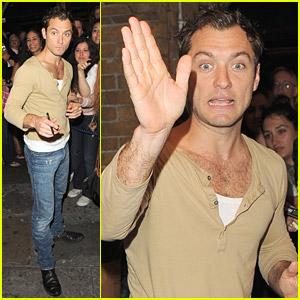 Jude Law's Love Triangle