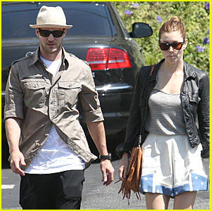 Justin Timberlake & Jessica Biel: Fourth of July Grocery Shopping!