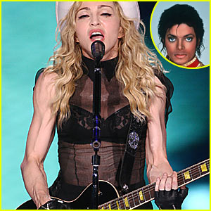 Madonna Performs Michael Jackson Tribute