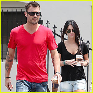 Megan Fox & Brian Austin Green: Peet's Pair