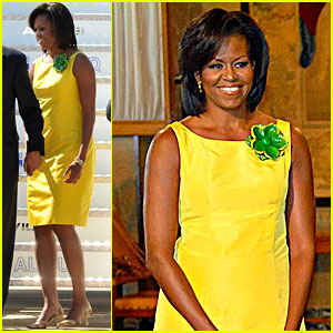 Michelle Obama: Hello Yellow!