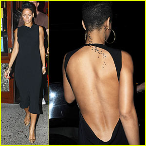 Rihanna is a Backless Dress Babe
