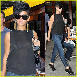 Rihanna is a West Village Woman