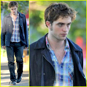 Robert Pattinson is Plaid Perfect