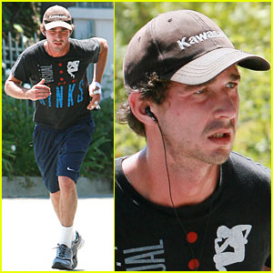 Shia LaBeouf Works Out The Kinks