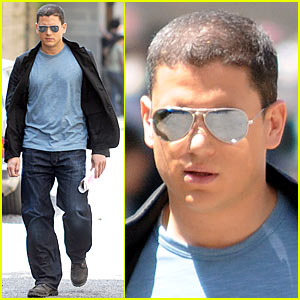 Wentworth Miller is a Harlem Hottie