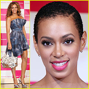 Beyonce is Samantha Thavasa Sexy, Solange is Still Bald