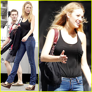 Blake Lively Goes To 'Town' With Ben Affleck