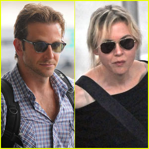 Bradley Cooper & Renee Zellweger Fly To Spain