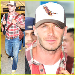 David Beckham is Plaid Perfect