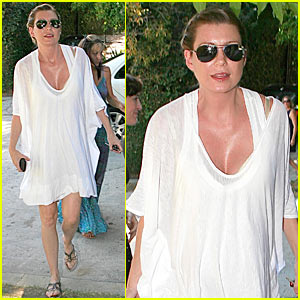 Ellen Pompeo: Baby Shower at Katherine Heigl's House!