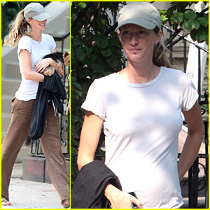 Gisele Bundchen: Boston Baby Bump!