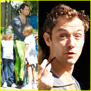 Jude Law is a Doting Dad
