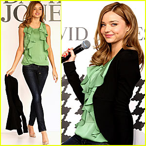 Welcome to Miranda Kerr Fashion School!