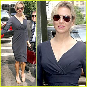 Renee Zellweger: Live with Regis and Kelly!