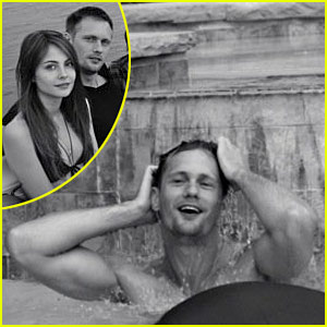Alexander Skarsgard &#038; Willa Holland: Straw Dog Sexy