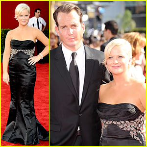 Amy Poehler - Emmy Awards 2009 with Will Arnett!