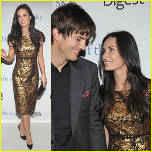 Ashton Kutcher & Demi Moore Support Half The Sky
