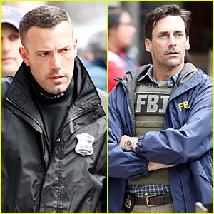 Ben Affleck & Jon Hamm: Men In Uniform