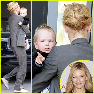 Cate Blanchett: Back To Work I Go!