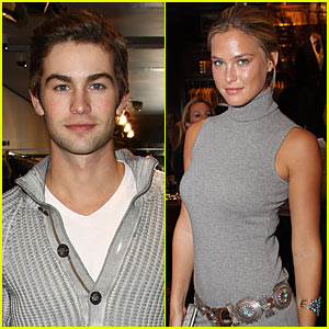 Chace Crawford &#038; Bar Refaeli Couple Up -- JustJared.com Exclusive