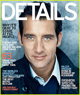 Clive Owen Covers 'Details' October 2009