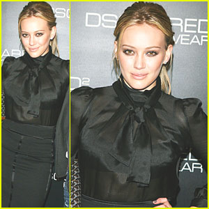 Hilary Duff Gets Dsquared2