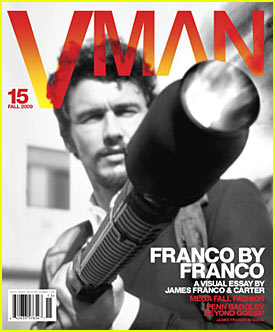 James Franco Covers VMAN Magazine