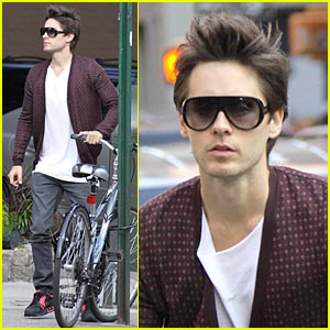 Jared Leto: Biker Boy