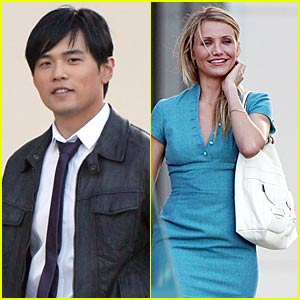 Cameron Diaz & Jay Chou: Green Hornet Hotties