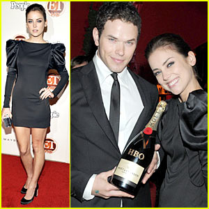 Jessica Stroup & Kellan Lutz: Emmys Party Time!