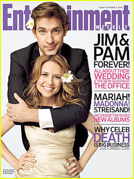 Pam & Jim: First Wedding Picture!