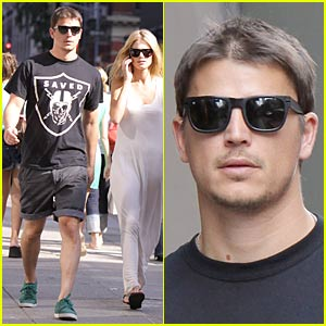 Josh Hartnett & Sophia Lie Couple Up