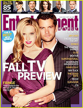 Joshua Jackson Covers Entertainment Weekly