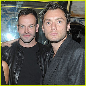 Jude Law Celebrates Peace Day