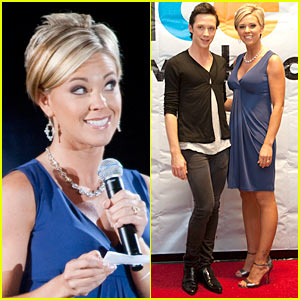 Kate Gosselin & Johnny Weir: Stars, Stripes and Skates!