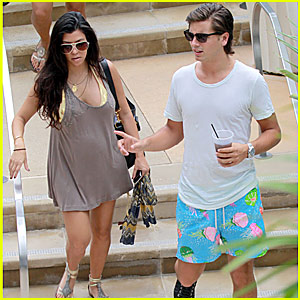 Kourtney Kardashian & Scott Disick: Carpaccio Couple