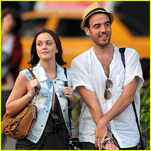 Leighton Meester & Logan Horne: Meatpacking Pair