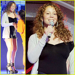 Mariah Carey Rehearsal Pics -- FIRST LOOK