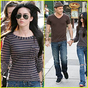 Megan Fox & Brian Austin Green: Sushi Supper