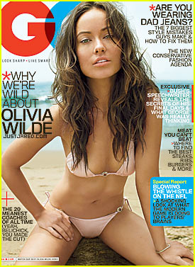 Olivia Wilde Covers GQ October 2009