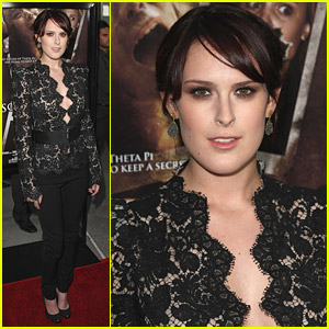Rumer Willis Shows Sorority Row
