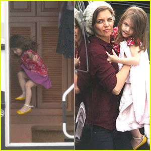 Suri Cruise: Read 'Em and Leap