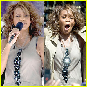Whitney Houston: Good Morning America!