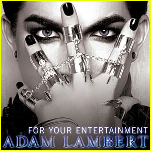 Adam Lambert - 'For Your Entertainment' Single Cover!
