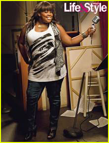 Glee's Amber Riley: Just Be Happy with Who You Are!