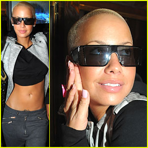 Amber Rose Has Awesome Abs
