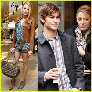 Blake Lively & Chace Crawford: Caffeine Fix!