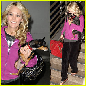 Carrie Underwood Aces It at LAX